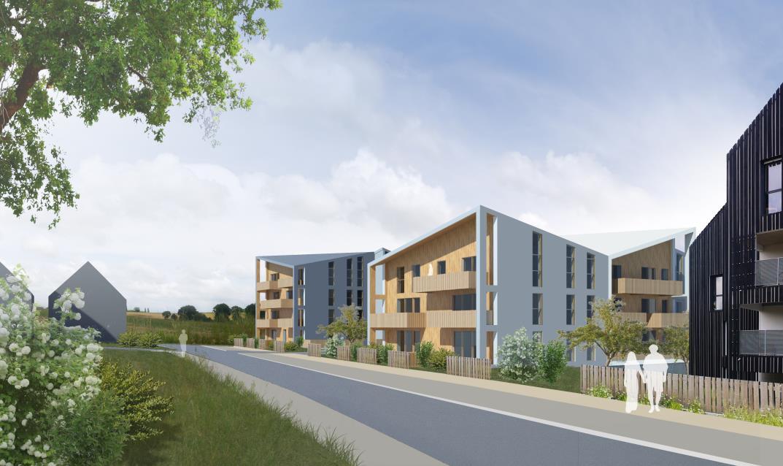 granges d acigne construction de 22 logements collectifs acigne 35 e dce. Black Bedroom Furniture Sets. Home Design Ideas